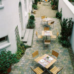 Hotel Aigner - Innenhof
