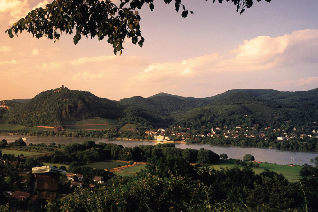 Siebengebirge am Romantischen Rhein