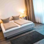 Doppelzimmer im Hotel Zur Post in Bonn